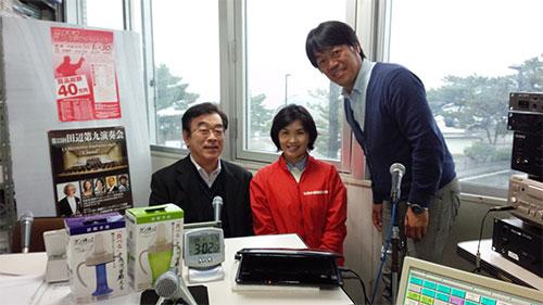 和歌山放送「田辺のキヨちゃん」生放送